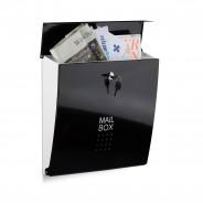 Poštni nabiralnik Mail box, črn