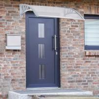 Nadstrešek za vhodna vrata, različne dimenzije, prozoren