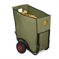 Zložljivi voziček za listje 160 L