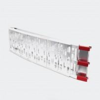 Aluminijasta zložljiva motorna nakladalna rampa, nosilnost do 340 kg
