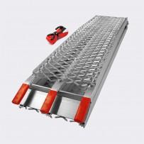 Zložljiva nakladalna rampa, prenosna aluminij, do 340 kg
