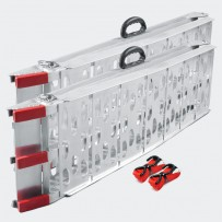 NAKLADALNA - NAVOZNA RAMPA, do 680 kg, aluminijasta, zložljiva, 2kos